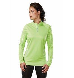 PROACT tee-shirt zip sport femme manches longues