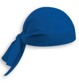 EGOCHEF bandana de cuisine bleu roi