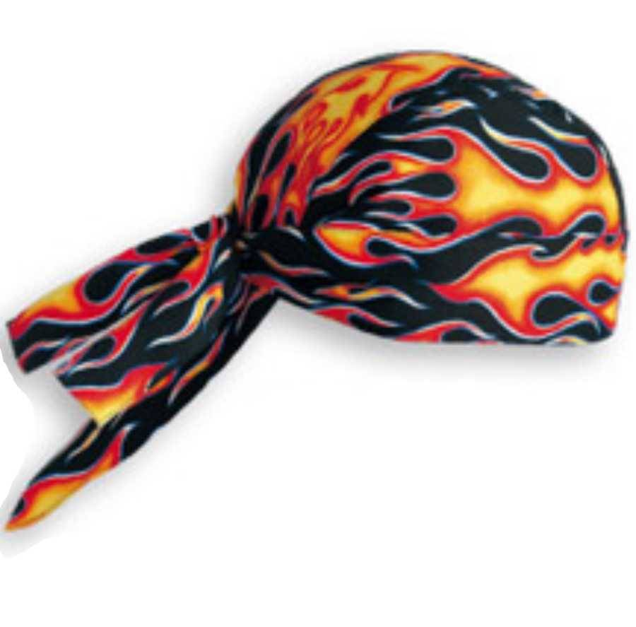 bandana de cuisine flames