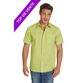 KARIBAN chemise homme Ace manches courtes K551