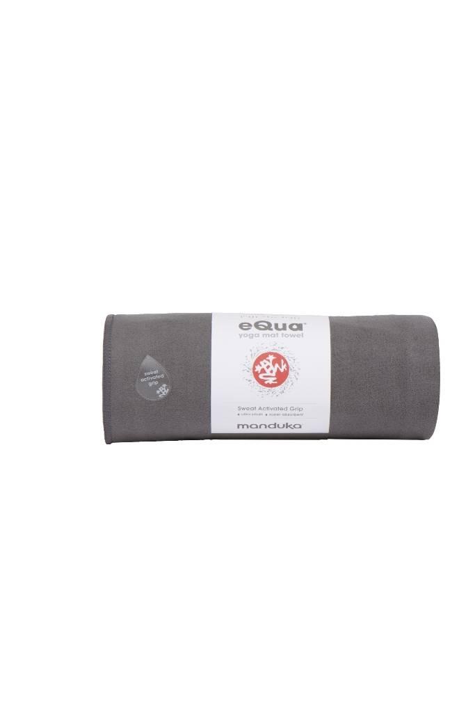 Manduka Equa Mat Towel Thunder Handtuch F 252 R Yogamatte