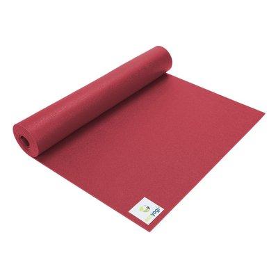 Ecoyogi Studio Yogamatte - Rot - 183 cm