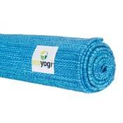 Ecoyogi Organic Cotton Yoga Matte Blau