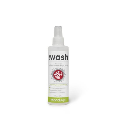 Manduka natural rubber mat wash spray - lemongrass