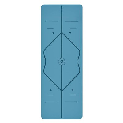 Liforme Yogamatte Blau