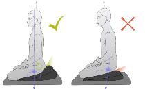 Die beste Meditationshaltung