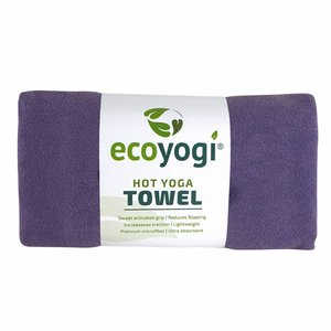 Ecoyogi Hot Yoga Towel - Lila