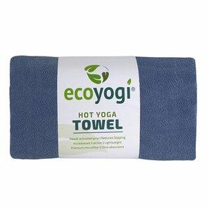 Ecoyogi Hot Yoga Towel - blau