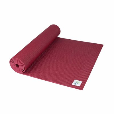 Ecoyogi Classic Matte 183 cm - Ruby Red
