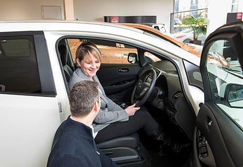 100.000ste Nissan LEAF verkocht!!