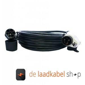 DOSTAR Type 1 - Type 2 Laadkabel 32A 1 fase 8 meter