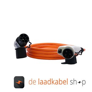 DOSTAR Type 1 - Type 2 Laadkabel 16A 1 fase 4 meter