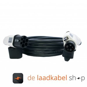 DOSTAR Type 1 - Type 2 Laadkabel 16A 1 fase 6 meter