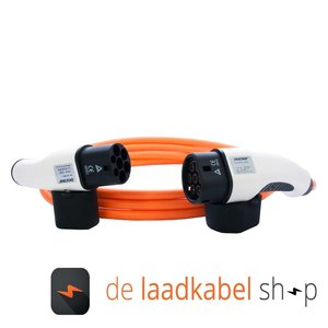 DOSTAR Type 2 - Type 2 Laadkabel 16A 3 fase 4 meter