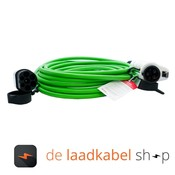 Ratio laadkabels Type 1 - Type 2 Laadkabel 16A 1 fase 8 meter