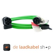 Ratio laadkabels Type 1 - Type 2 Laadkabel 16A 1 fase 4 meter