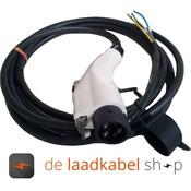 DOSTAR 16A 1 fase aansluitkabel met Female type 1 stekker - Kabel op maat