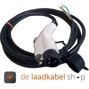 Ratio 16A 1 fase aansluitkabel met Female type 1 stekker - Kabel op maat