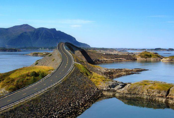 Noorwegen Benzine En Dieselvrij Elektrische Auto