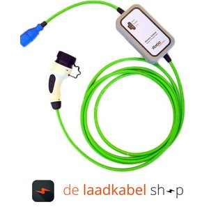 Ratio laadkabels Type 2 female portabel Thuislader CEE - 16A 1 fase 10 meter