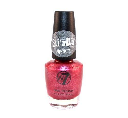 W7 Make-Up Suede Effect - Pink Suede - Nagellak