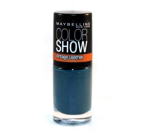 Maybelline Color Show Vintage Leather - 207 Turquoise Temptation - Nagellak