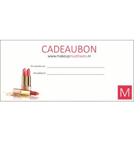 Cadeaubon Make-Up Musthaves