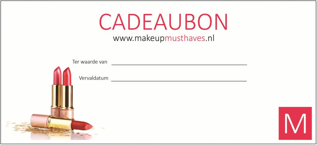 Cadeaubon - Make-Up Mu...