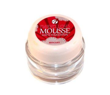 W7 Make-Up Mousse Foundation - Biscuit
