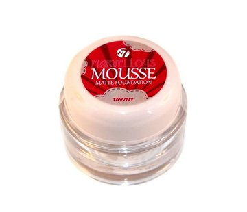 W7 Make-Up Mousse Foundation - Tawney