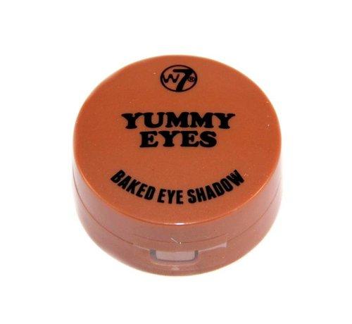 W7 Make-Up Yummy Baked Eye Shadow - Rusty - Oogschaduw