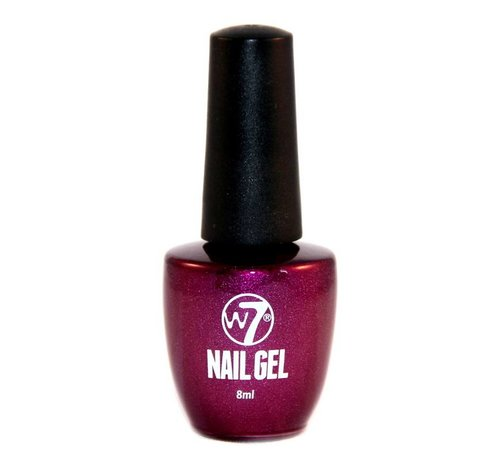 W7 Make-Up Gel Nagellak - 6 Purple Sparks