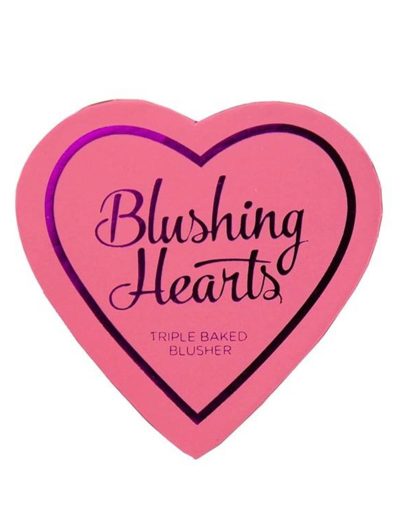 Makeup Revolution Hearts Blusher - Candy Queen of Hearts - Blusher