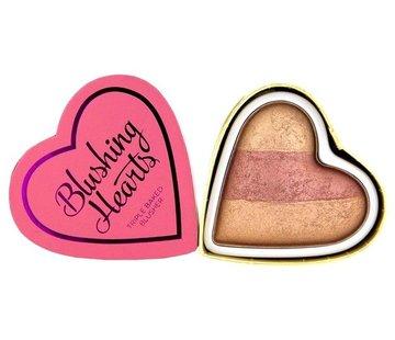 Makeup Revolution Hearts Blusher - Peachy Keen Heart