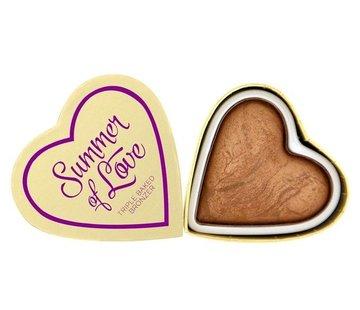Makeup Revolution Hearts Bronzer - Love Hot Summer