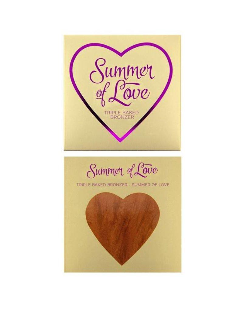 Makeup Revolution Hearts Bronzer - Love Hot Summer - Bronzer
