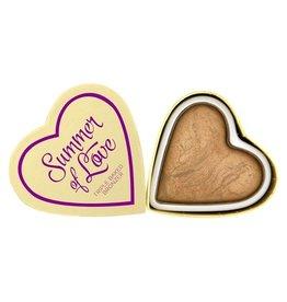 Makeup Revolution Hearts Bronzer - Summer of Love
