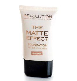 Makeup Revolution Matte Foundation - Warm Beige