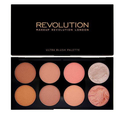 Makeup Revolution Ultra Blush & Contour Palette - Hot Spice - Palette