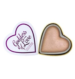 Makeup Revolution Hearts Highlighter - Goddess of Love