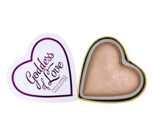 Makeup Revolution Hearts Highlighter - Goddess of Love - Highlighter
