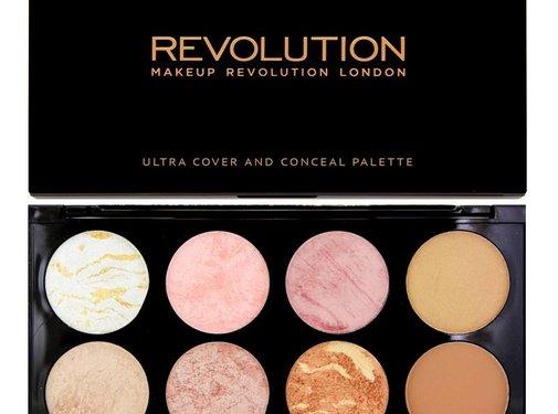 Makeup Revolution Ultra Blush & Contour Palette - Golden Sugar