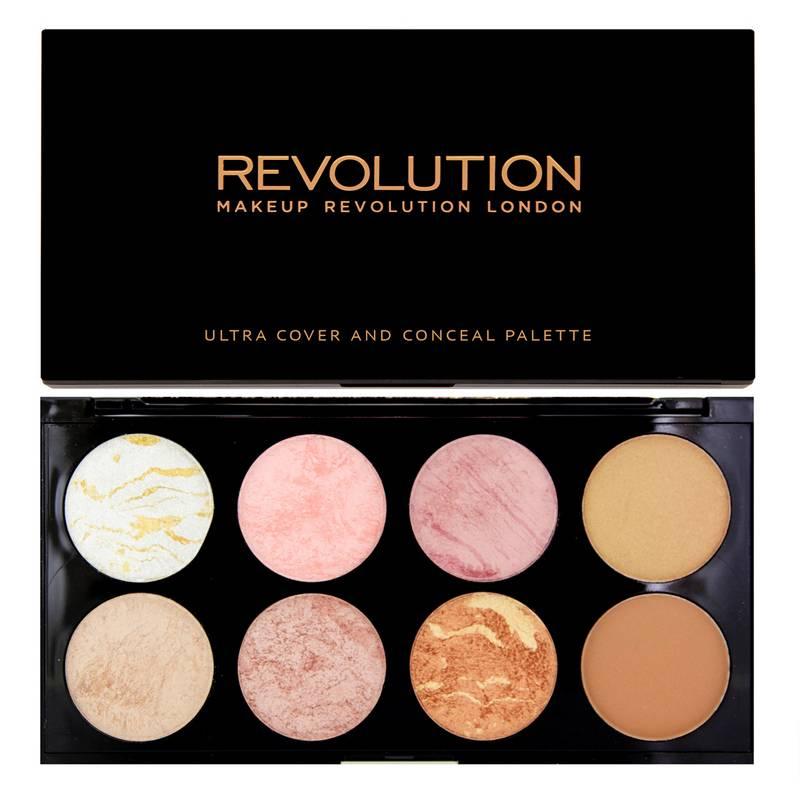 Makeup revolution ultra blush amp contour palette golden sugar blush