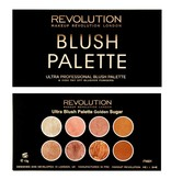Makeup Revolution Ultra Blush & Contour Palette - Golden Sugar - Blush Palette