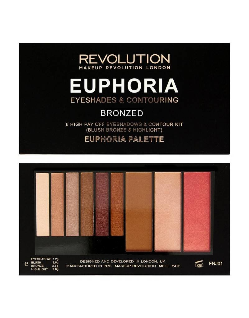 Makeup Revolution Euphoria Palette - Bronzed Euphoria - Palette