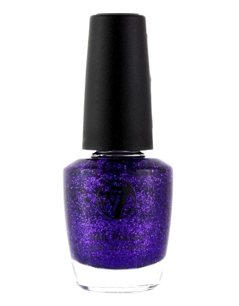 W7 Make-Up - 4 Purple Dazzle - Nagellak
