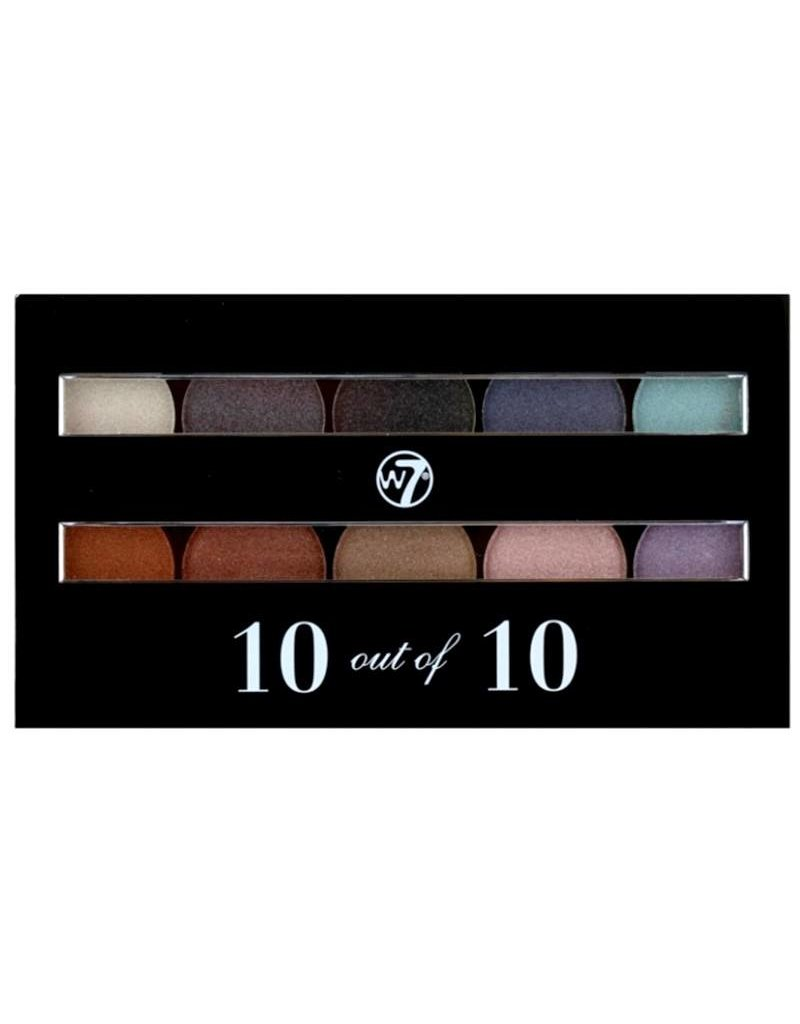 W7 Make-Up 10 Out Of 10 Palette - Oogschaduw
