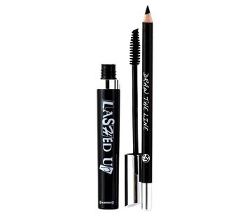 W7 Make-Up Lashed Up Duo - Zwart