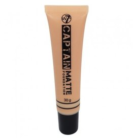 W7 Make-Up Captain Matte Foundation - Sand Beige