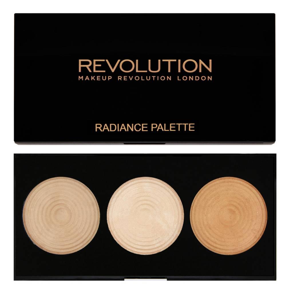 makeup revolution highlighter palette radiance. Black Bedroom Furniture Sets. Home Design Ideas